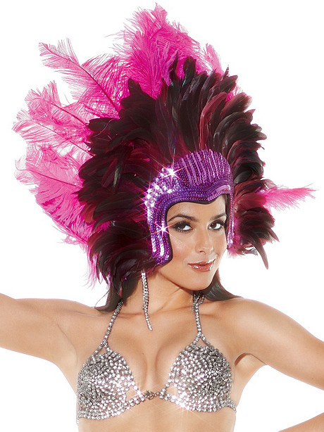 Sequin Headdress