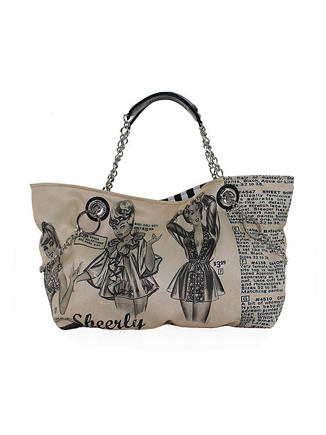 SHOPPER TOTE SENSATIONAL