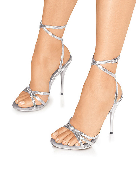 Knot Detail Strappy Stiletto