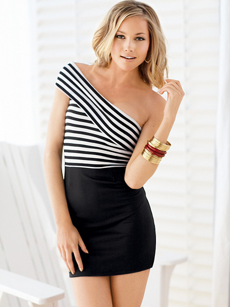 Show Your Stripes Knit Dress