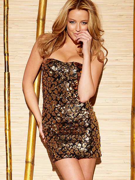 Leopard Sequin Dress