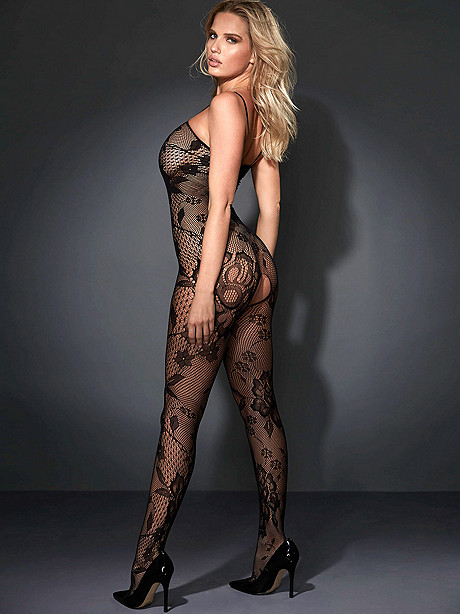 NEW Floral Lace Bodystocking