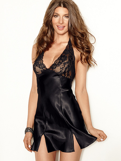 Screen Siren Satin Chemise PLUS