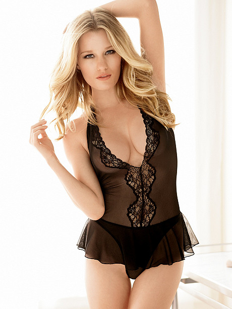 Heaven & Halter Skirted Teddy