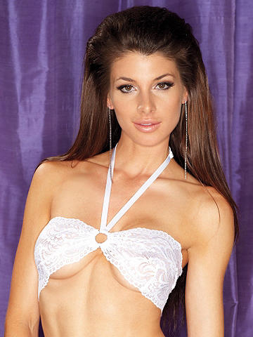 Love Me in Lace Bandeau Bra