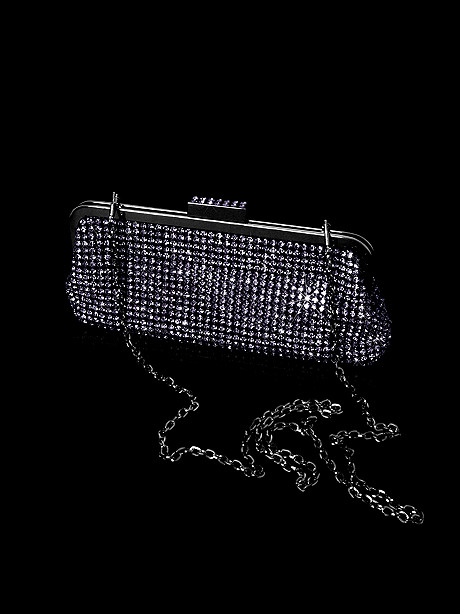 Timeless Rhinestone Clutch