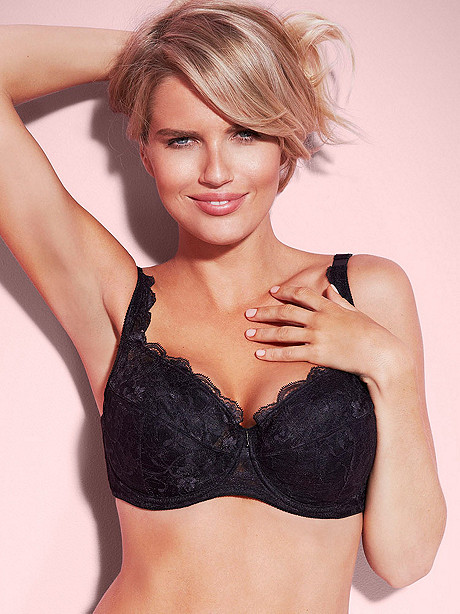 Daisy Lace Full-Figure Bra