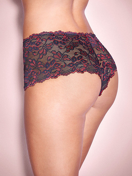 Jessica Cross-Dye Lace Boy Short