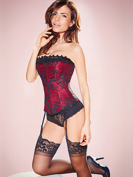Hollywood Dream Lace Strapless Corset