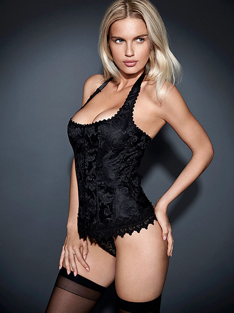 Hollywood Dream Halter Corset