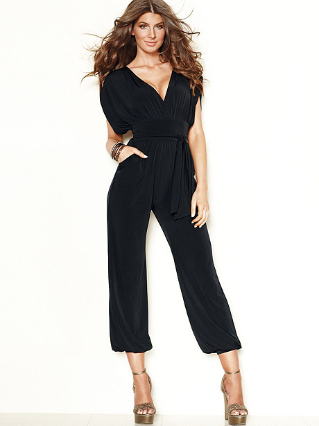 Cross-Front Jumpsuit