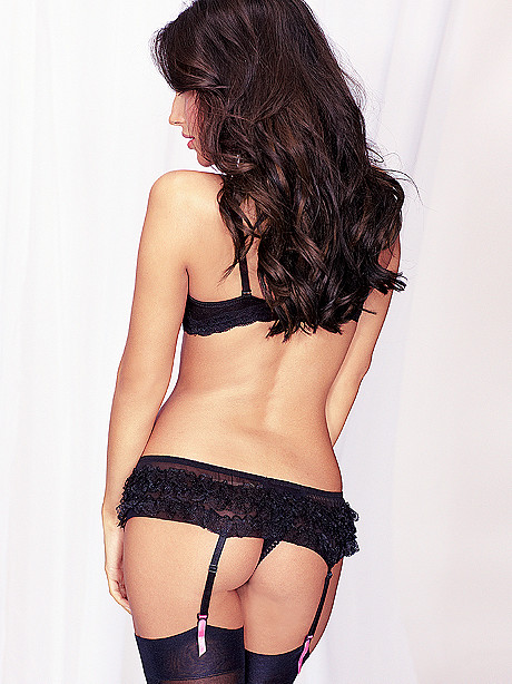 Ruffle Open Panel Panty