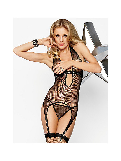 Bad to the Buckle Fishnet Cami
