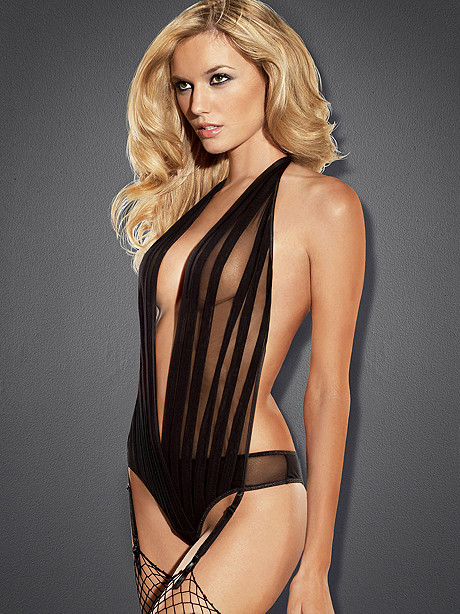Pleated Mesh Teddy