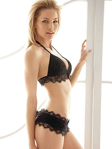 Eyelash Lace Naughty Knicker Versailles Thong