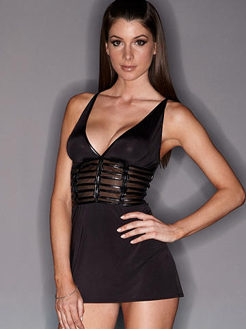 Double Caged X-Back Chemise