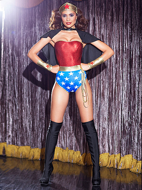 Sexy Superhero Costume