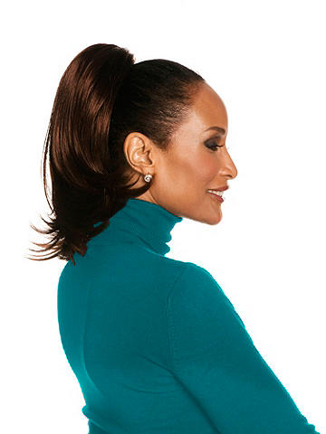 "Chic 12"" Straight Layered Reversible Ponytail"
