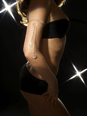 Rhinestone Arm Band