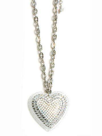 Swarovski Elements Heart Necklace