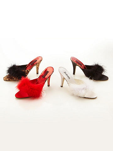 Glamour Girl Marabou Slipper