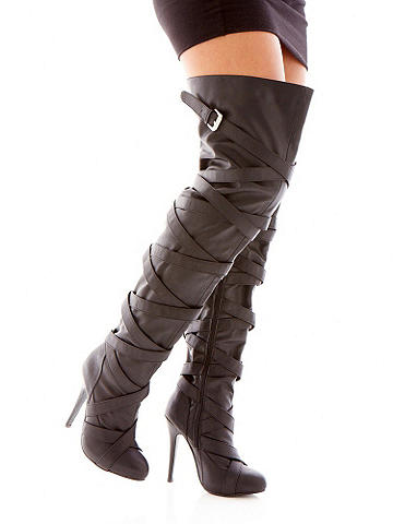 Sky-High Thigh High Boot