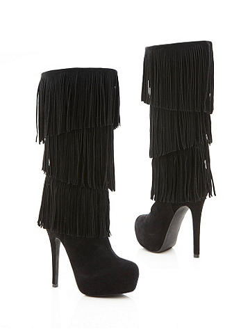 Forever Fringed Boot