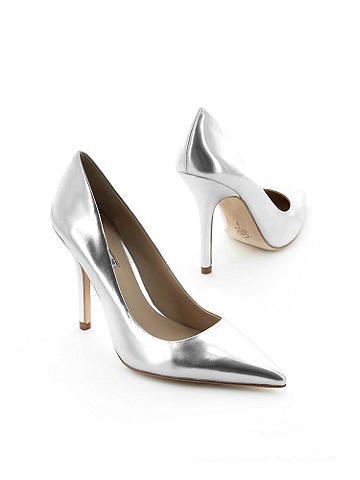 Sway Patent Pump by Charles David - Charles by Charles David. Work-week chic gets taken to haute new levels in this patent pump. The pointed toe elongates your leg and the classic design goes with everything from pencil skirts to your favorite denim. Imported.