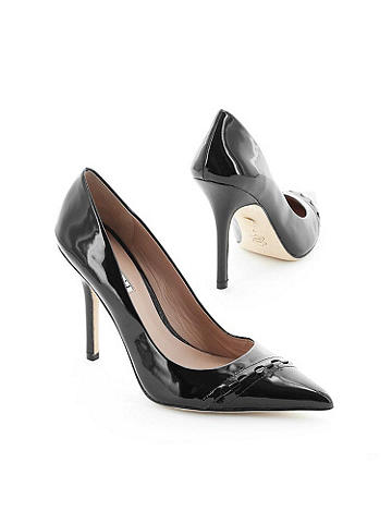 Patent Leather Stiletto - Charles by Charles David. This pump is a classic, updated with a patent finish to easily transform your wardrobe from day to evening. Imported.