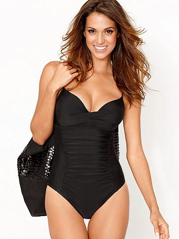Ruched One-Piece