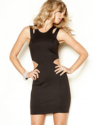 Multi Cutout Dress