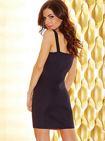 Strappy & Sexy Bandage Dress - The bandage dress is as chic and sexy as it is timeless. This new classic is just right for sultry summer nights. Alluring features include