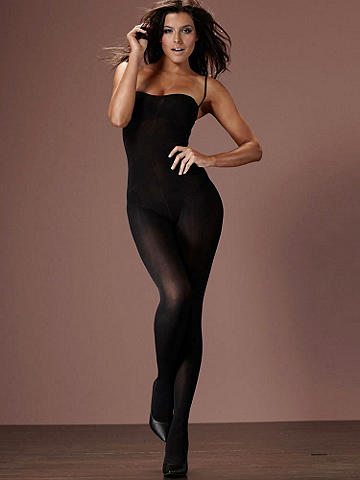 Opaque Bodystocking Plus