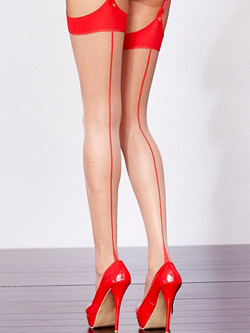 Cuban Heel Stocking