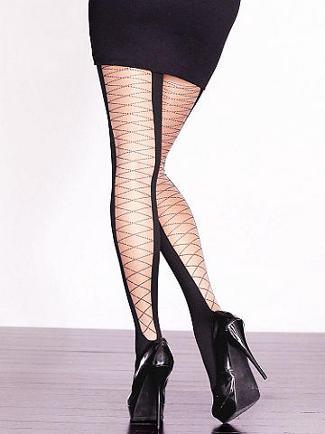 Lace-Up Back Thigh High - null