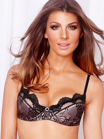 Scalloped Lace Bra
