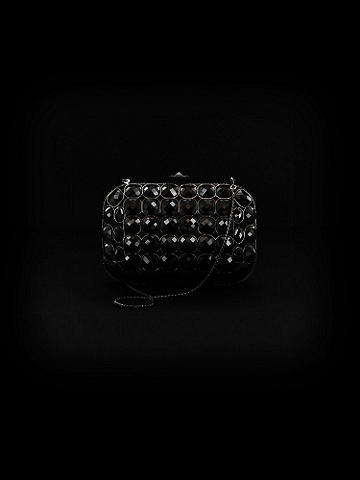 Icon Jeweled Miniaudiere Clutch
