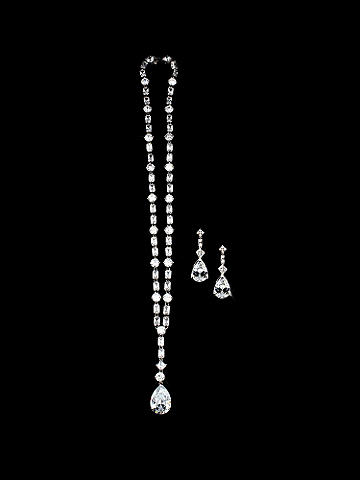 Timeless Drop Earring & Necklace Set