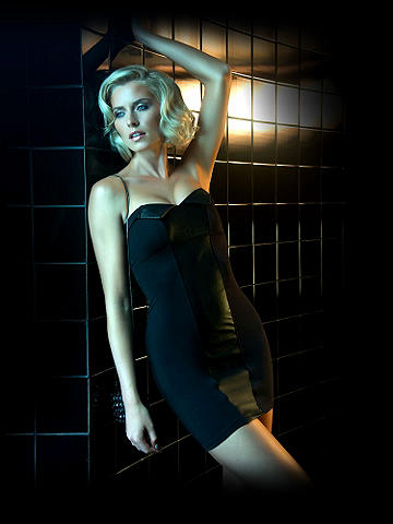 Icon Leather Inset Sheath Dress - Fresh, contemporary and chic.