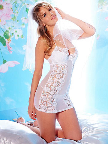 Embroidered Floral Chemise