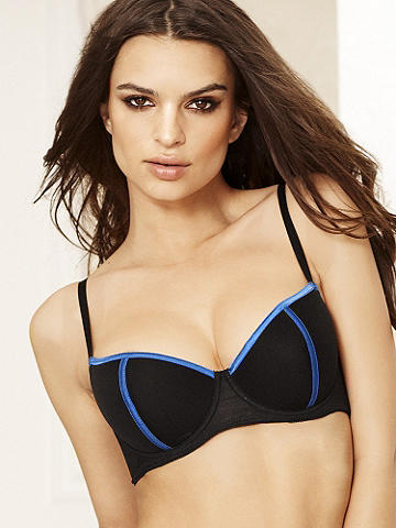 Gia Bra Top - The ultimate in seduction and glamour! Designed to show off your body, this stunning bra offers support and sexy sheer coverage.  