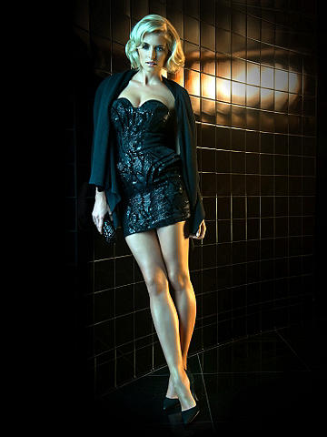 Icon Sequin Peplum Dress - Embrace the decadent evening that awaits you with legendary luxury.