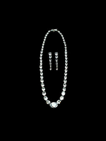 Rhinestone Necklace - null