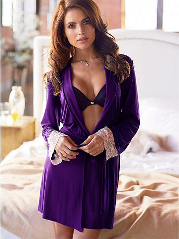 Beauty Sleep Robe - Elegance and comfort are a breeze with our new robe! Crafted from the softest, move-with-you fabric, this is the best way to lounge.  