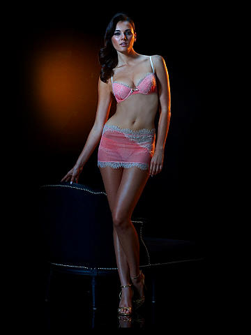 Limited Edition Harriett Half-Slip - Tempt, entice and enchant in this stunning, body-skimming half-slip. Featuring the highest quality silk and crafted with artisan details that include imported lace and a silhouette enhancing design, this the ultimate summer indulgence. Wear with the matching Harriett Bra (47596) for an incredible night-in look!