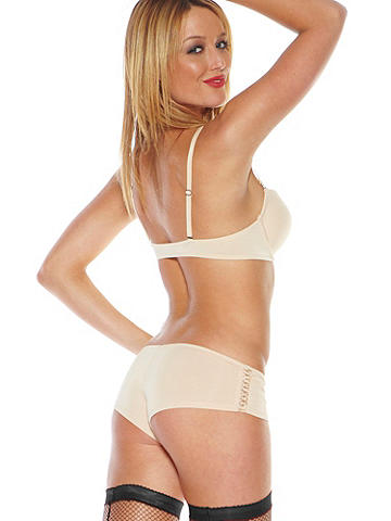 Angelina Microfiber Boy Short - Our best-selling boy short brings the wow factor in smooth microfiber that provides all-day comfort. Lace-up sides finish this sweet panty with a flirty flourish. Polyester/spandex/nylon/cotton. Imported.