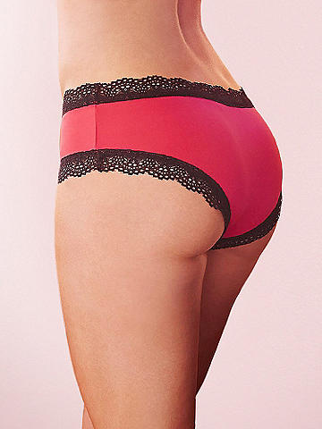 Microfiber & Lace Boy Short