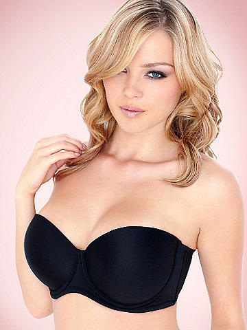 Five-Way Convertible Full-Figure Strapless Bra
