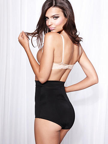 Firm Control High Waist Brief - The ultimate in firm control and shaping. Reinforced front panel for extra support. High waist extension smooth your stomach. Non-roll high elastic waistband. Lined. Nylon/spandex. Imported.