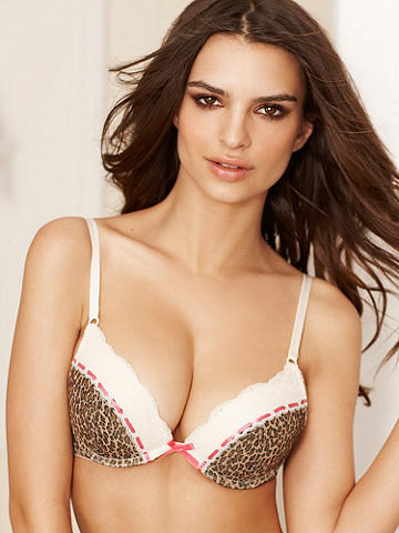 The Padded Push-Up Bra - Our most breathtaking new push-up offers an uplifting experience and incredible cleavage! Designed to give you the best support, it features the most brilliant details:  